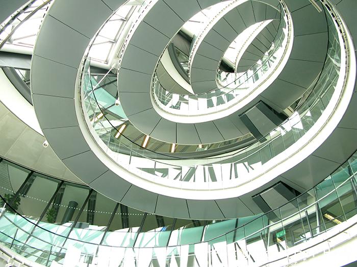 «Сити-холл» в Лондоне: интерьер помещения