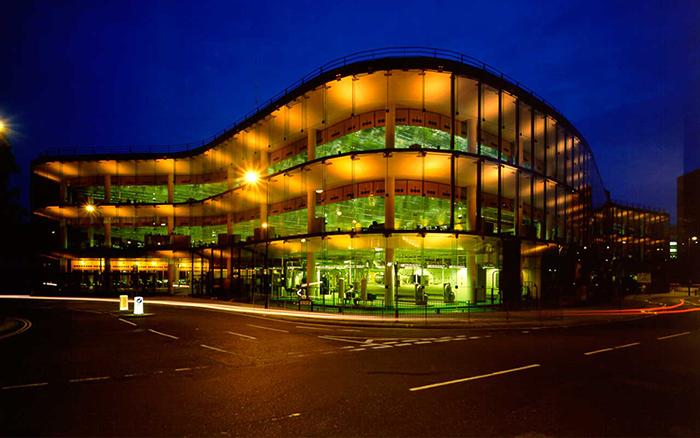 Штаб-квартира компании «Уиллис» в Ипсвиче: ночной кадр
