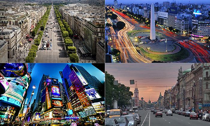 20 самых потрясающих бульваров со всего мира, по которым обязательно стоит прогуляться.