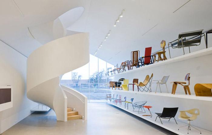 Музей дизайна «Витра» в Вайле-на-Рейне: интерьер помещения