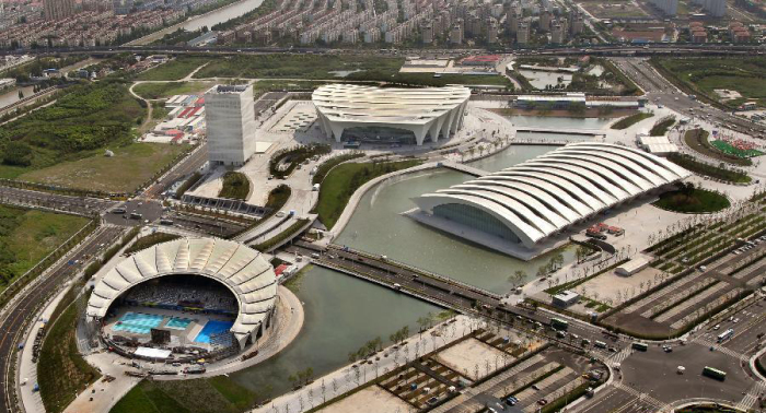 Спортивный центр 'Восток' в Шанхае