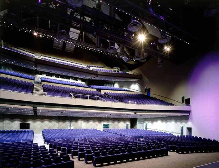 Конференц-центр «Клайд Аудиториум» в Глазго: интерьер зала