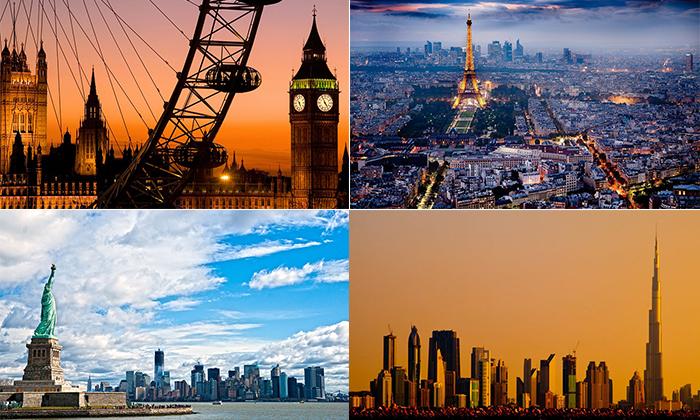 20 крупнейших городов мира с  панорамами невероятной красоты