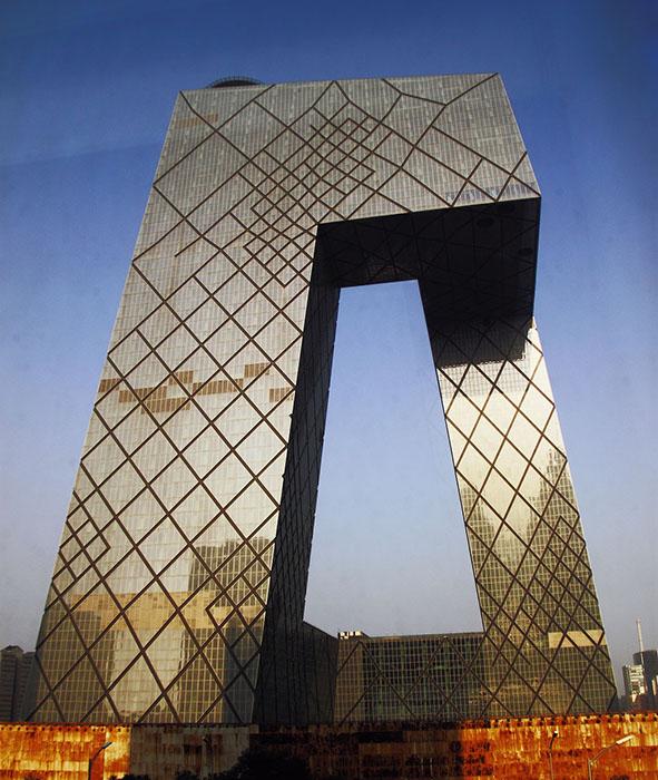 Штаб-квартира Центрального Китайского телевидения CCTV в Пекине, Китай