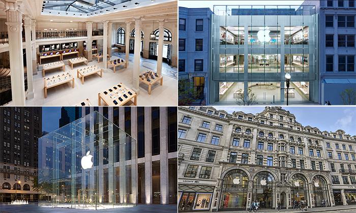 10 самых невероятных фирменных магазинов Apple