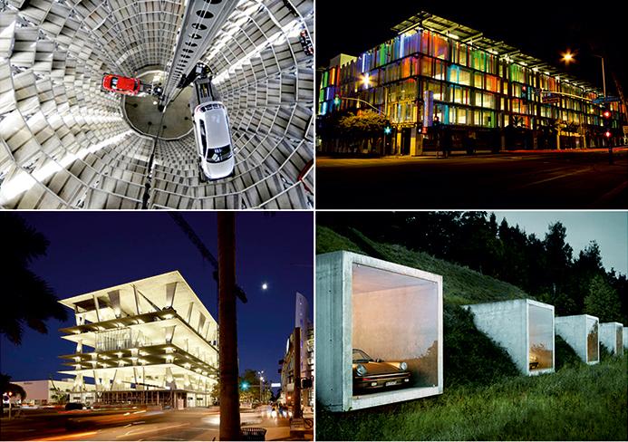 ТОП-10 самых невероятных автомобильных парковок