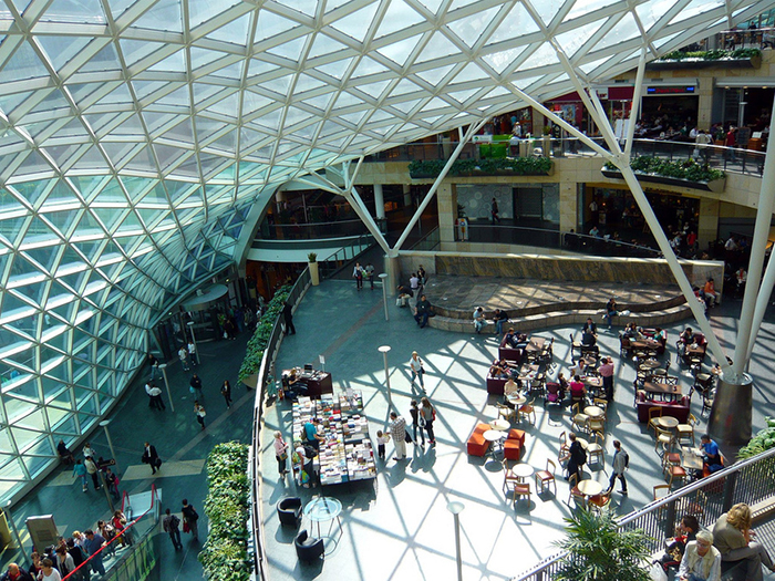 Многофункциональный комплекс «Золотые террасы» в Варшаве: интерьер помещения
