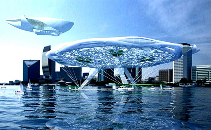 Плавающий аэро-отель