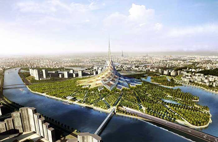 15 поражающих воображение проектов для России от ведущих зарубежных архитекторов, которые так и не были реализованы