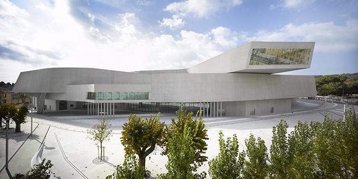 Музей современных искусств MAXXI в Риме