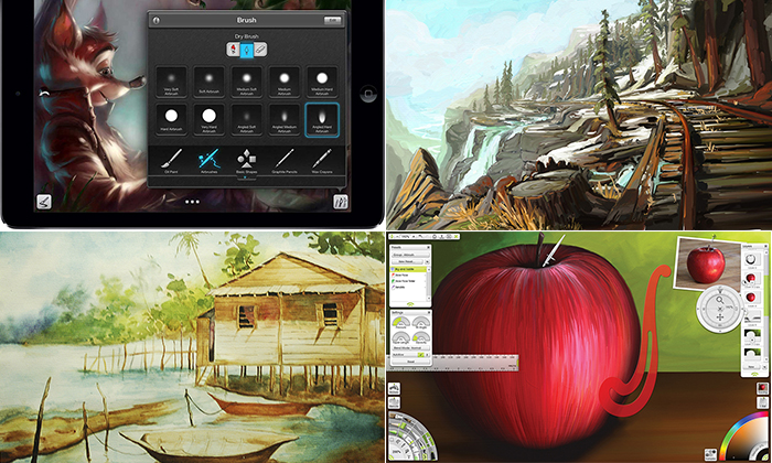 21 приложение для владельцев iPad, неравнодушных к рисованию