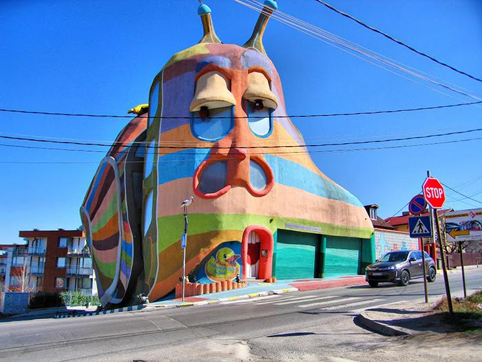 Жилой дом «Дом-улитка» в Софии, Болгария