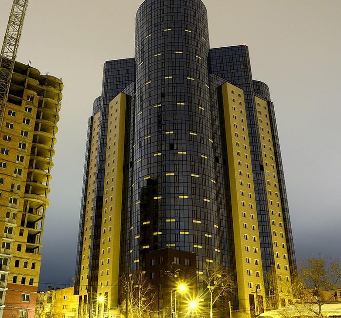 Жилой комплекс «На Вилоновской»: ночной кадр