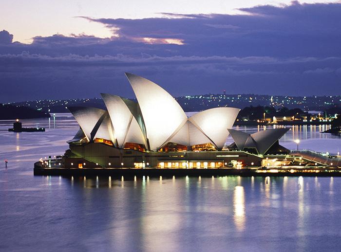 Opera House, em Sydney, Austrália