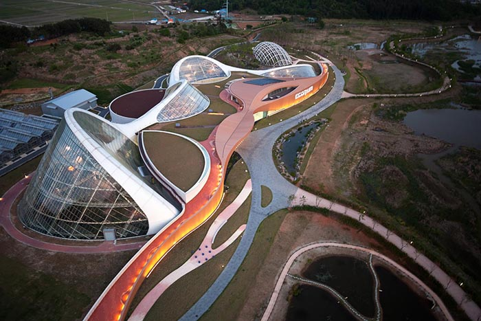 Образовательный комплекс «Проект Экориум» Национального экологического института в Сочхоне