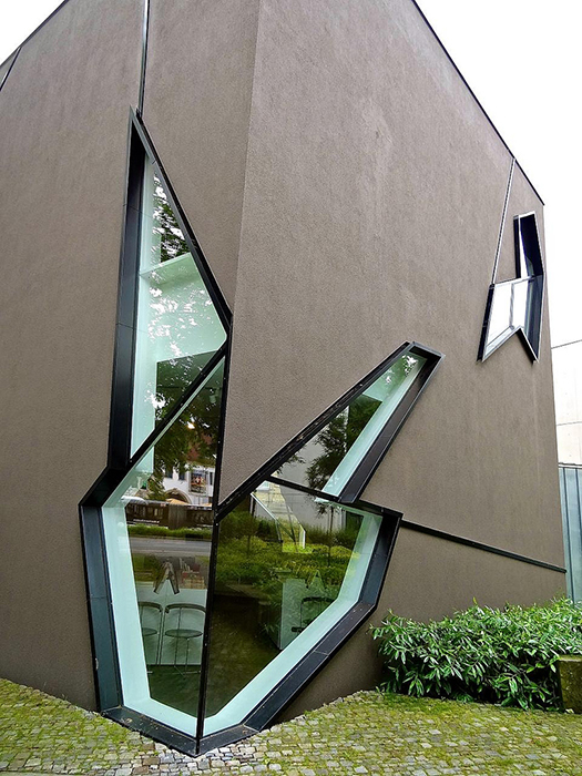 Музей Феликса Нуссбаума в Оснабрюке: фрагмент фасада