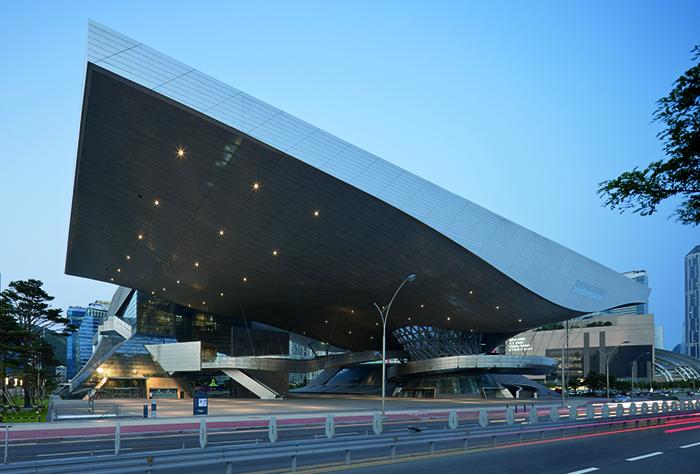 Кинотеатр в Пусане, Южная Корея