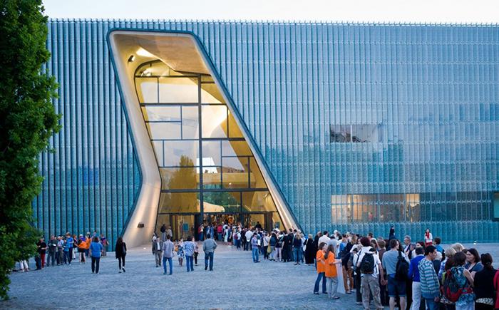 Музей истории польских евреев в Варшаве