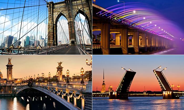 30 невероятных мостов со всего Света, на которых непременно стоит побывать