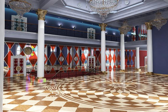 Татарский государственный театр кукол «Экият»: интерьер помещения