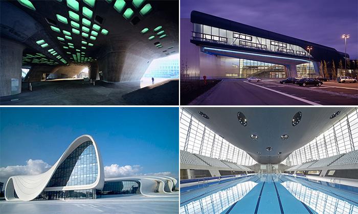 Торжество кривой линии. Топ-15 самых невероятных проектов Захи Хадид