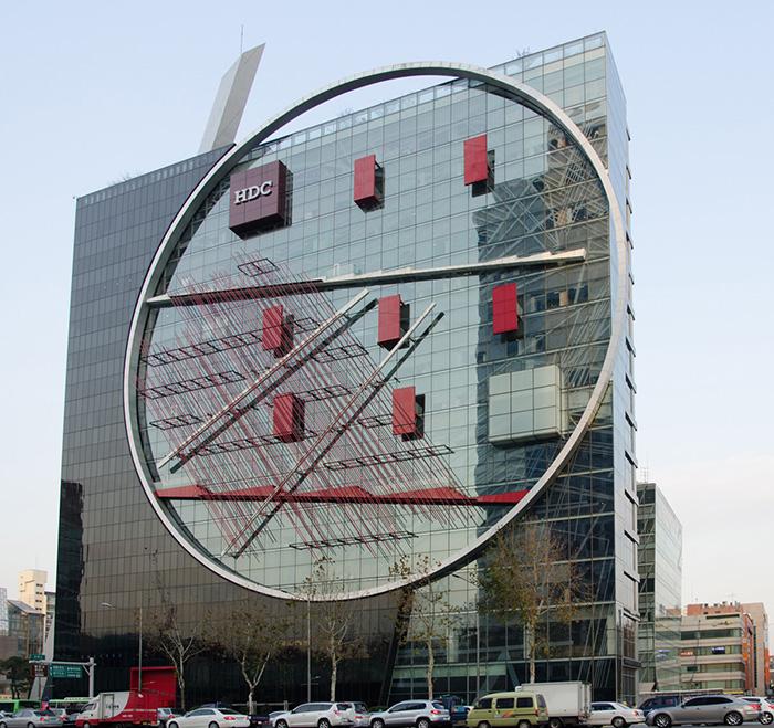 Офисное здание компании Hyundai Development Corporation в Сеуле