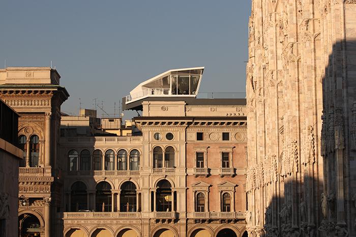 Мобильный ресторан на крыше Cube Electrolux в Милане