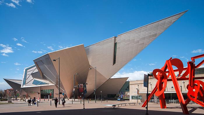 Музей искусств в Денвере, США