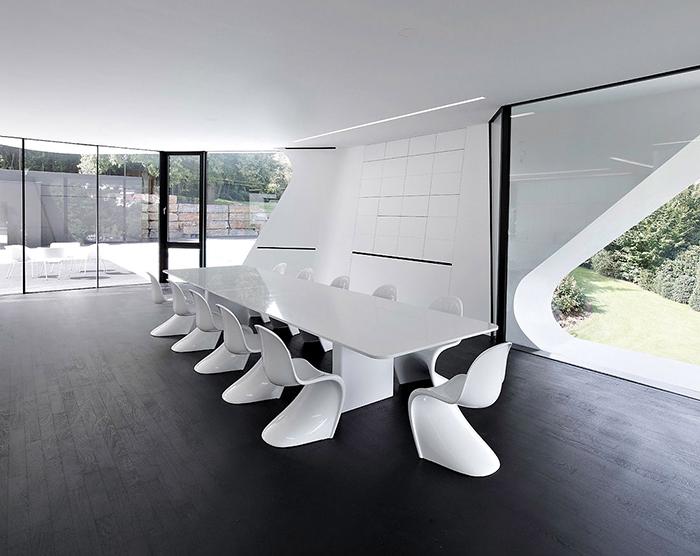 Жилой дом «Дупли-Каса» в Баден-Вюртемберге: интерьер помещения