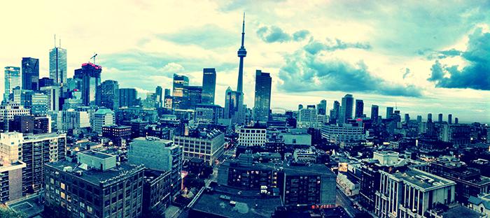 Торонто. Вид сверху