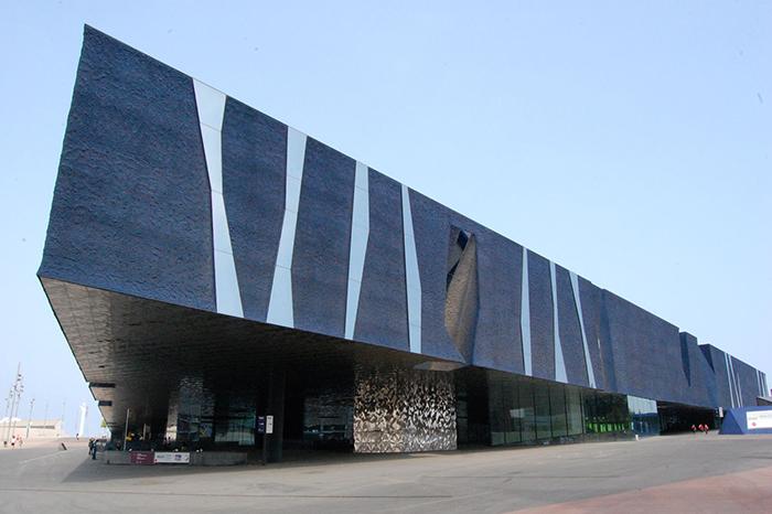 Конференц-центр «Форум» в Барселоне, Испания