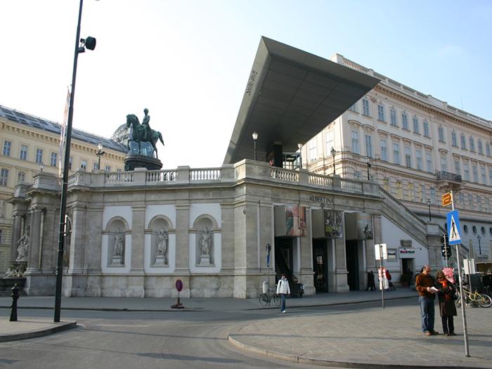 Музей графики «Галерея Альбертина» в Вене