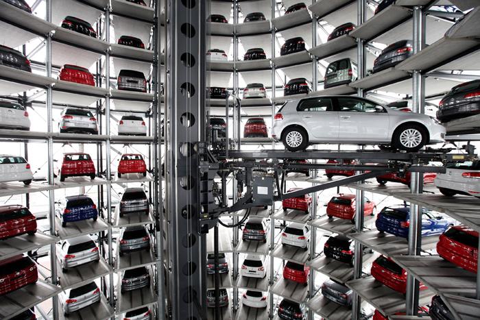 «Автоград» Volkswagen в Вольфсбурге, Германия