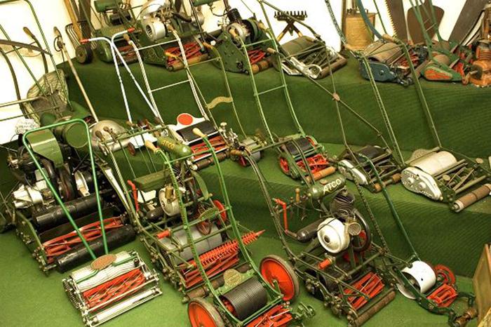 Музей газонокосилок в Саутпорте, Великобритания