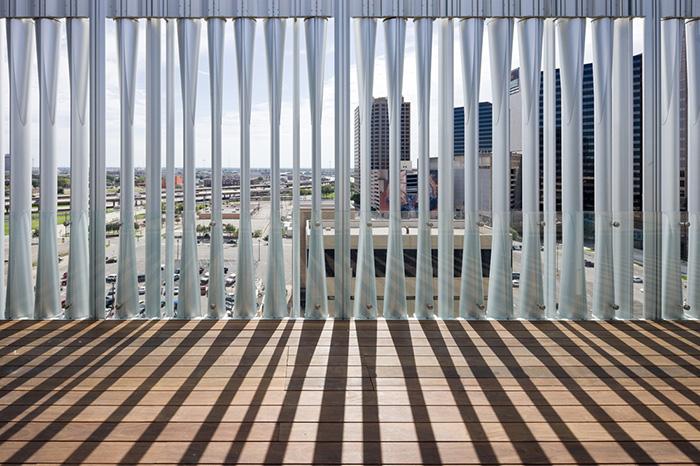 Драматический театр Ди и Чарльза Уайли в Далласе, США: интерьер помещения