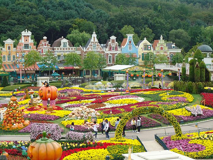 Парк развлечений «Эверленд» в Сеуле, Южная Корея