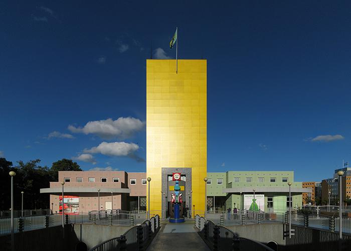 Художественный музей в Гронингене, Нидерланды