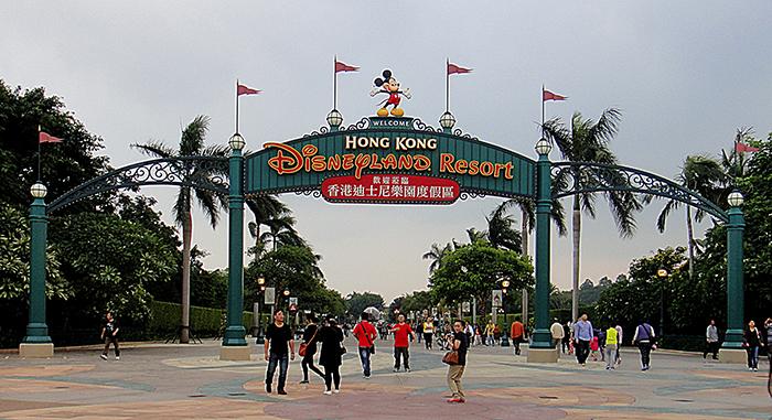 Парк развлечений «Диснейленд» в Гонконге