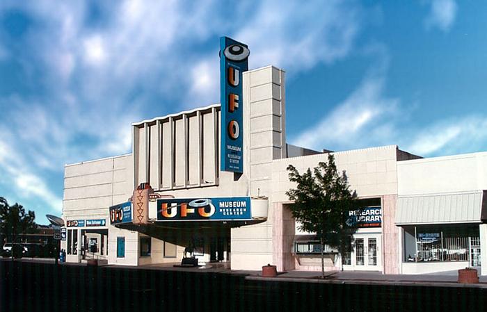 Музей и исследовательский центр НЛО в Розуэлле, США