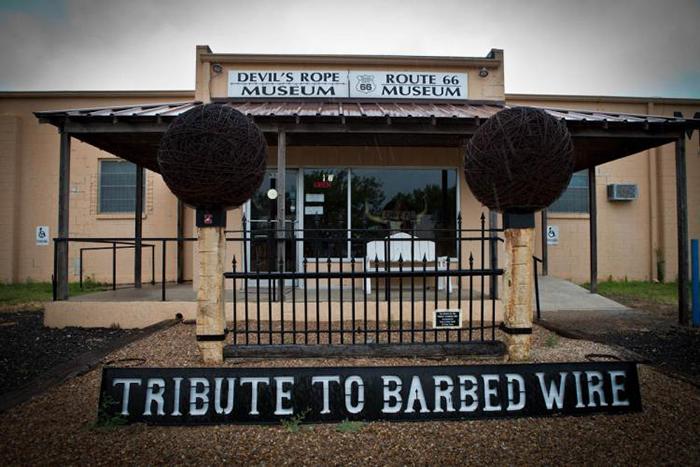 Музей колючей проволоки в Ла-Кроссе, США