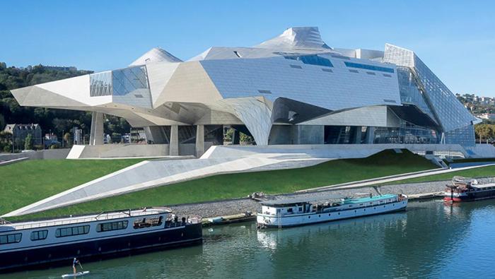 «Музей слияния» в Лионе, Франция