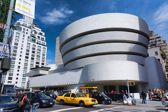 Музей Соломона Гуггенхайма в Нью-Йорке, США