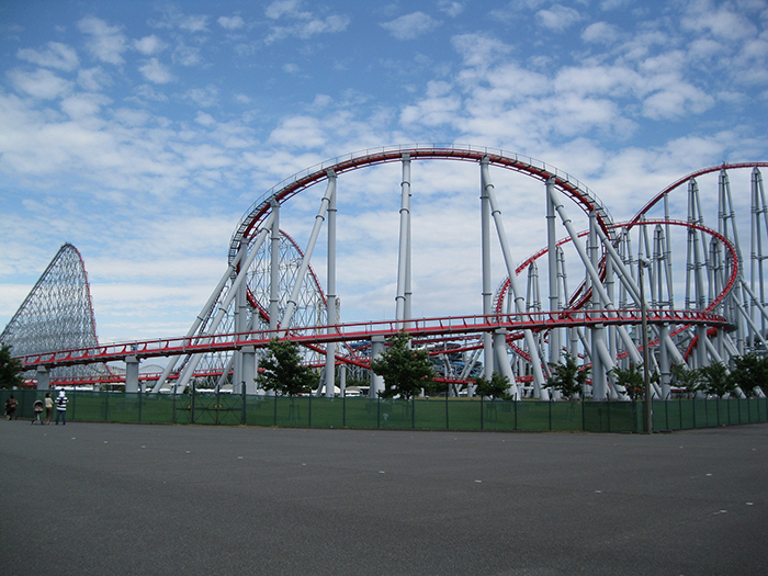 Парк развлечений «Нагашима Спа Лэнд» в Кагаве, Япония