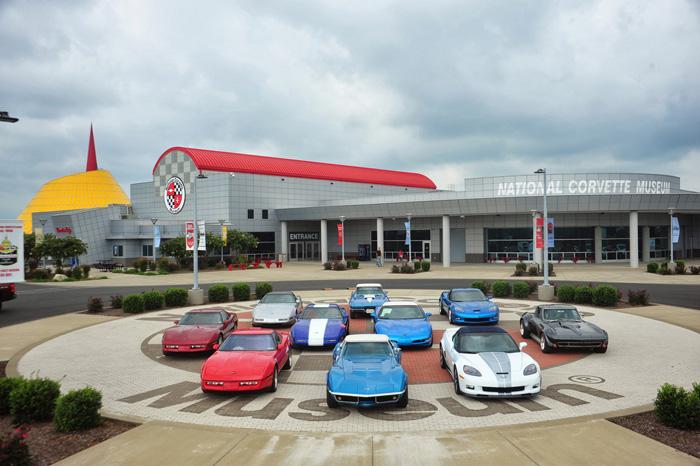 Национальный музей автомобиля Chevrolet Corvette в Баулинг-Грине, США