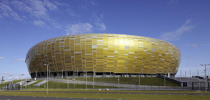 Футбольный стадион PGE Arena Gdansk в Гданьске