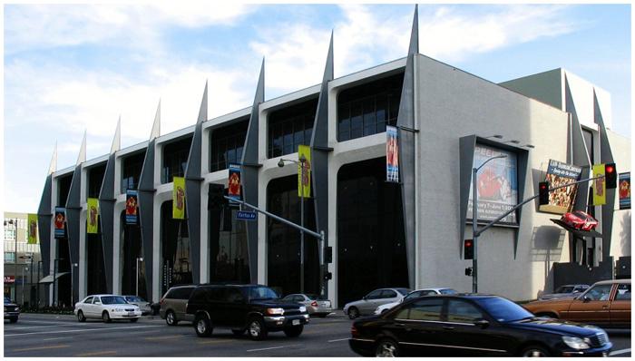 Автомобильный музей Петерсона в Лос-Анджелесе, США