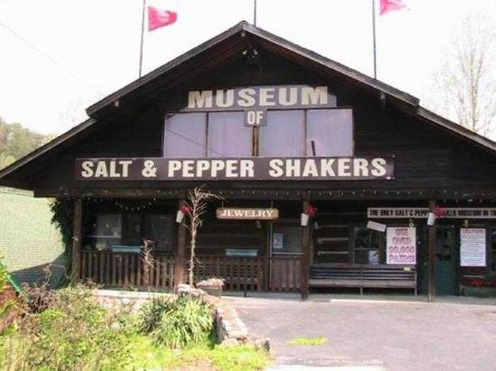 Музей солонок и перечниц в Гетлинбурге, США