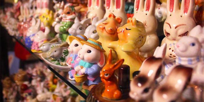 Музей кроликов в Пасадене, США