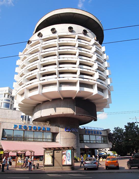 Гостиница «Салют» в Киеве, Украина