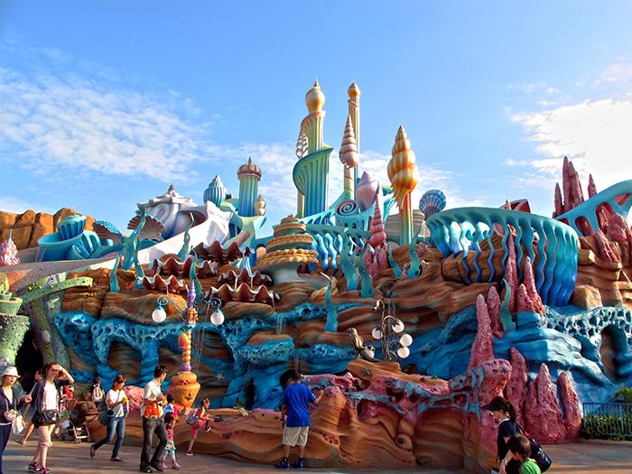 Тематический парк развлечений «Море Диснея» в Токио, Япония